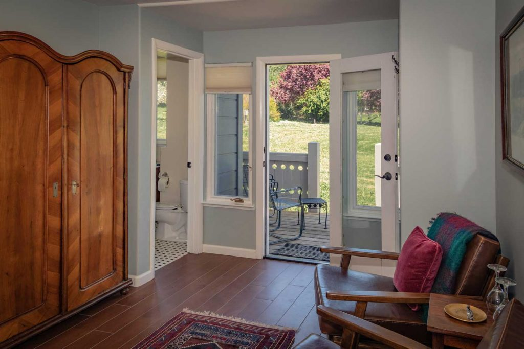 Stylish boutique bed and breakfast inn in Point Reyes
